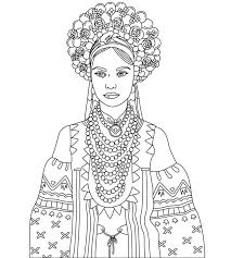 783 beautiful women coloring pages adults images