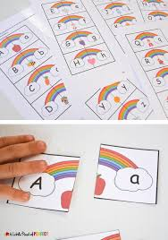 free printable rainbow stationery rainbow letter and phonics picture match free printable
