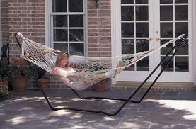 Chair Hammock With Stand Texsport Hubert High Island Cotton Hammock With Stand