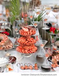 Wedding Reception Buffet Menu Ideas by Fischbuffet Fingerfood Für Die Hochzeit Buffet Für Hochzeit