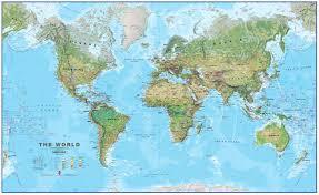 World Map China by Physical World Map 1 30 Mio Physical World Maps World Maps