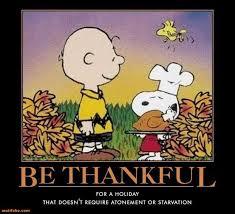 demotivational poster happy thanksgiving