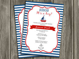 nautical baby shower invitations printable nautical sailboat baby shower invitation ahoy its a
