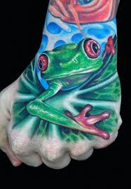 45 best realistic u0026 3d frog tattoo ideas images on pinterest