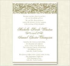 formal invitation formal invitation template template business