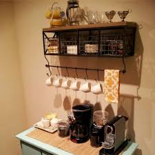 kitchen coffee bar ideas apartments coffee bar wall shelf station ideas involvery community