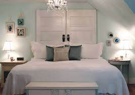 Elegant White Country Bedroom Ideas Bedroom Country Rectangle Textured Wood Diy Headboard Decor With