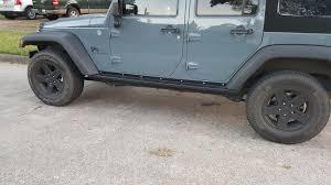 jeep rock sliders teraflex wrangler rockguard rock slider steps 4637310 07 17