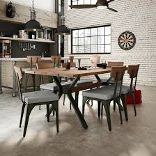 Industrial Dining Room Tables Decoration Industrial Dining Room Table