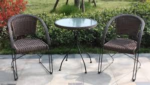 Garden Bistro Chairs Garden Bistro Furniture Set 3 Piece With 2 Cantilever Chairs 1