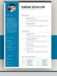 50 awesome resume templates 2016 u2022