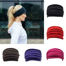 sports headband women wide sports headband stretch elastic running