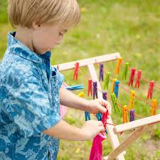 kids wooden clothes horse in pretend play u2013 nova natural toys u0026 crafts