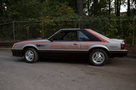 1979 mustang indy pace car history and specifications mustanglab com