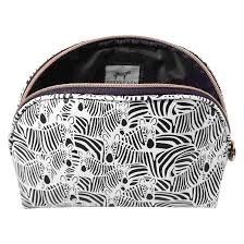 pencil bag dabney zebra pencil makeup bag target