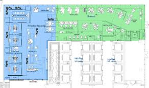 Floor Plan Standards Rfid Chips Spell End To Branch Lines For High Value Customers