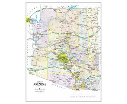 Road Map Of The Usa by Maps Of Arizona State Collection Of Detailed Maps Of Arizona