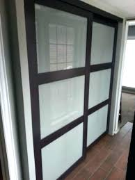 Frosted Closet Door Frosted Glass Sliding Doors Modern Glass Sliding Doors Glass