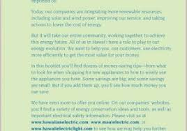 hawaii electric light company solar electric light company best of sustainability report hawaii