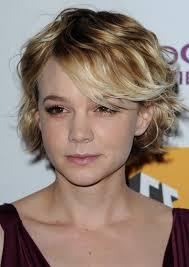 hair cuts for slightly wavy hair carey mulligan short hair styles for wavy hair popular haircuts