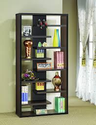 amazon com coaster home furnishings 800265 casual bookcase
