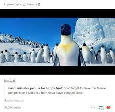 Happy Feet Meme - penguin boobs penguins know your meme