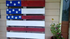 Pallet American Flag 4th Of July Decor Ideas For The Porch Party U0026 Parade Thumbtack