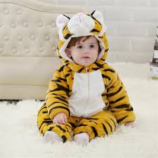 cutest newborn halloween costumes aliexpress com buy doubchow babys toddlers cute yellow tiger