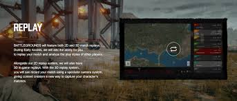 pubg 3d replay replay function pubattlegrounds