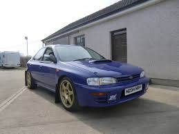 subaru convertible newly restored prodrive group a impreza subaru pinterest