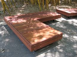 outdoor wooden seating benches isywn cnxconsortium org outdoor