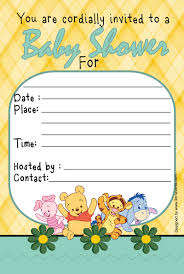 winnie the pooh baby shower winnie the pooh baby shower invitations templates winnie the poo