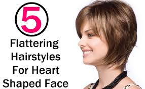 best haircut for heart shaped face and thin hair awesome hairstyles for heart shaped faces and thin hair pictures