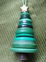 button tree ornament modern minerals