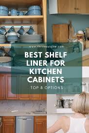 the best kitchen cabinet shelf liner 8 best shelf liners for kitchen cabinets 2021 edition
