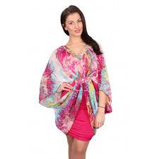 coloured dress pink multi coloured chiffon batwing dress parisia fashion