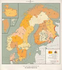 Scandinavia Map United Kingdom Of Scandinavia English By Kuusinen On Deviantart
