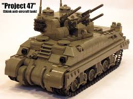 lego army tank canadian skink anti aircraft tank dubbed