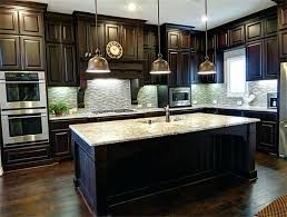 light granite countertops with dark cabinets kitchen with dark cabinets fin soundlab club