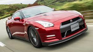 Gtr R36 Nissan Gt R Red In Motion