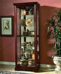 pulaski curio cabinet costco pulaski furniture curio cabinet costco hayden cherry