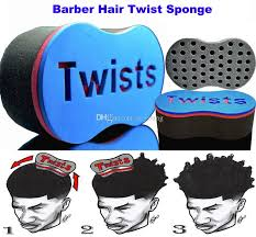hair twist sponge new magic barber hair brush twist sponge for dread locs twist coil