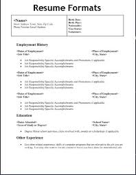 proper resume template what does a proper resume look like foodcity me