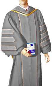 doctoral graduation gown custom doctoral robes academic hoods and graduation gowns