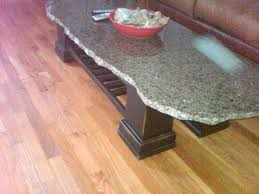 Granite Top Coffee Table How To Make A 100 Dollar Table Granite Top Scrap From A Local