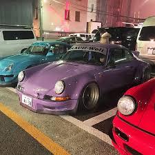 porsche japan rwb new year u0027s party car bone pl