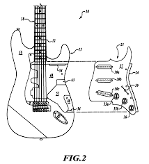 patent us8283552 docking system for pickups on electric guitars