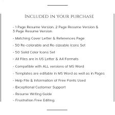 teacher resume template creative resume template