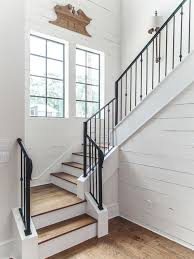 L Shaped Stairs Design Farmhouse L Shaped Staircase Ideas Designs U0026 Remodel Photos Houzz