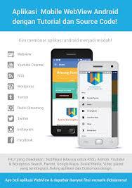 membuat aplikasi android video cara membuat aplikasi mobile android webview dengan mudah dan